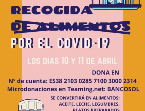 Bancosol sigue atendiendo con alimentos a los colectivos más vulnerables ante la situación de crisis del virus Covid-19
